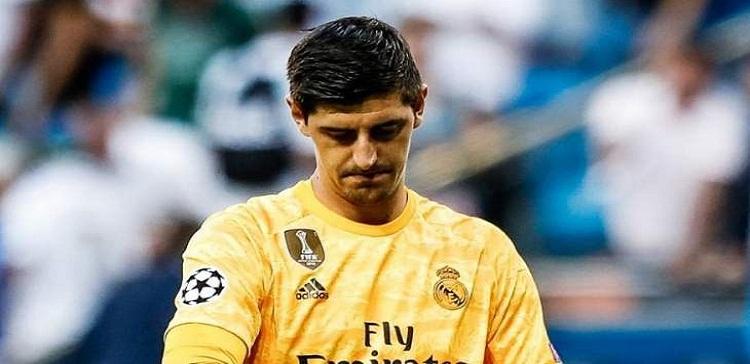ريال مدريد يصدر بيان بحالة كورتوا