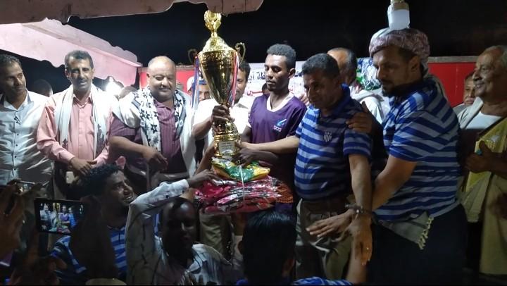 الشعلة يحرز كأس البطولة التنشيطية لكرة القدم في «خنفر»